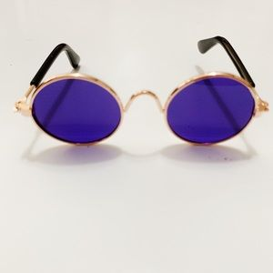 Purple Pet Sunglasses